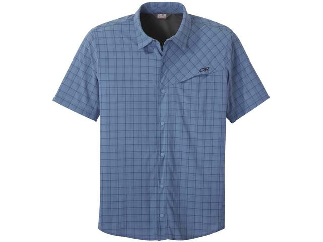 Outdoor Research Astroman SS Sun Shirt Men peak blue